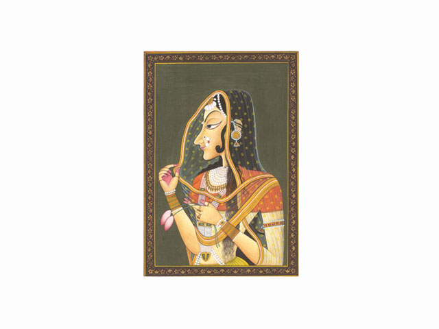 Bani Thani Painting of Kishangarh