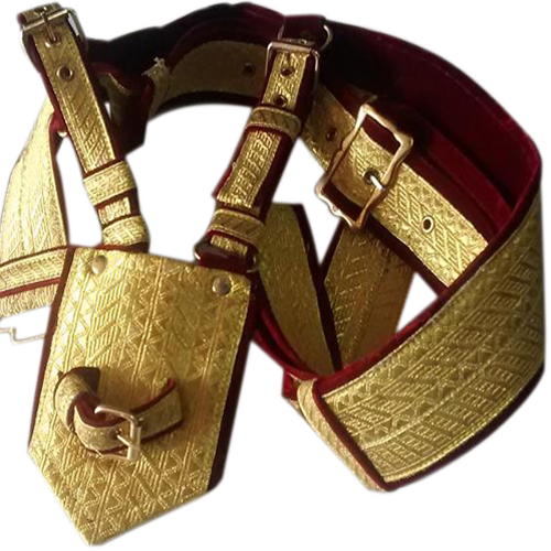 Golden Groom Cross Belt (Kamarbandh)