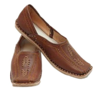 Jaipuri Juti in brown