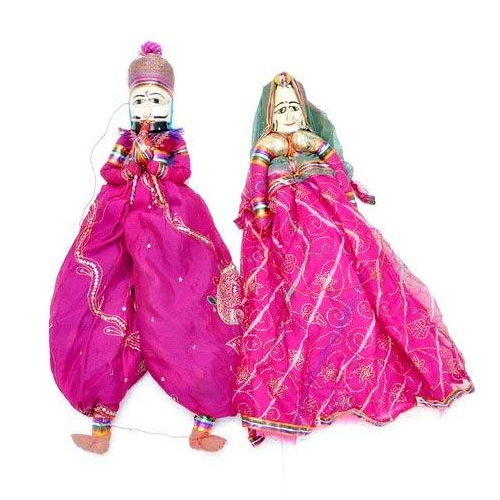 Rajasthani Puppet in Pink