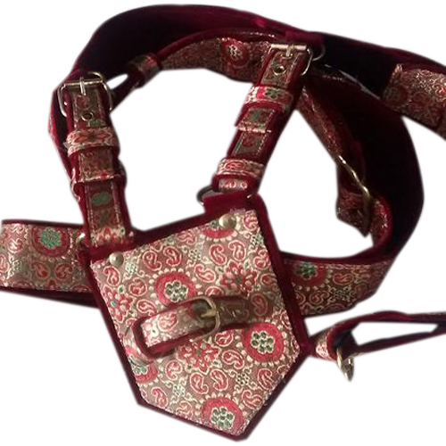 Red Groom Cross Belt (Kamarbandh)